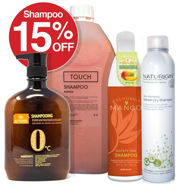15% OFF Shampoo