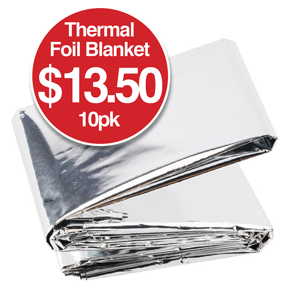 Thermal Blankets Foil Wraps