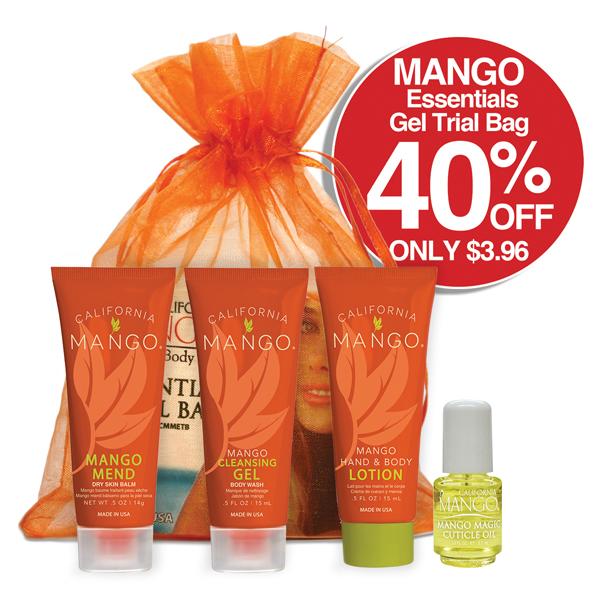 Mango Essentials Gel Trial Bag