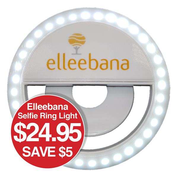 """Elleebana Selfie Ring Light SAVE $5 ONLY $24.95"""