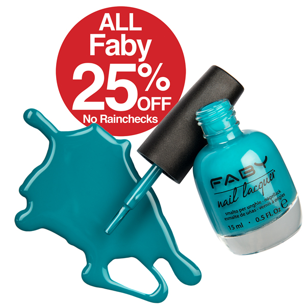 Faby SAVE 25%