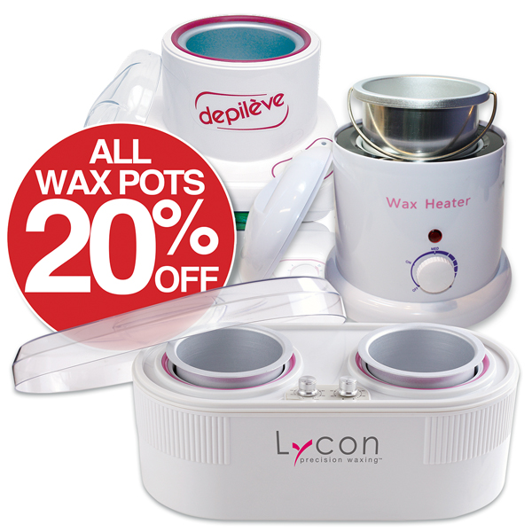 All Wax Pots 20%off
