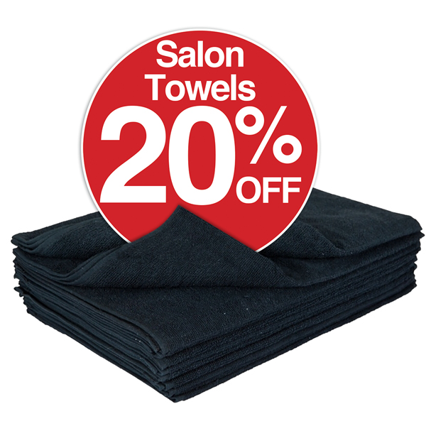 20% Salon Towels