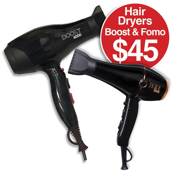 Hair Dryers $45