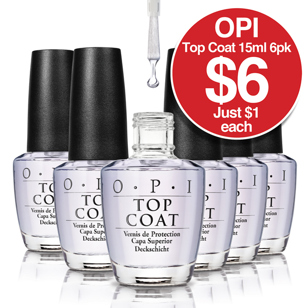 OPI Topcoat 15ml 6 Pack $6 per pack