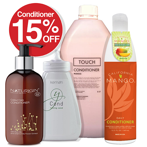 15% OFF Conditioners