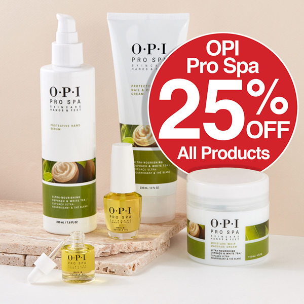 OPI Pro Spa All Products Save 25%