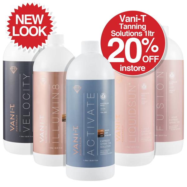 New Look Vani-T Tanning Solutions 1ltr