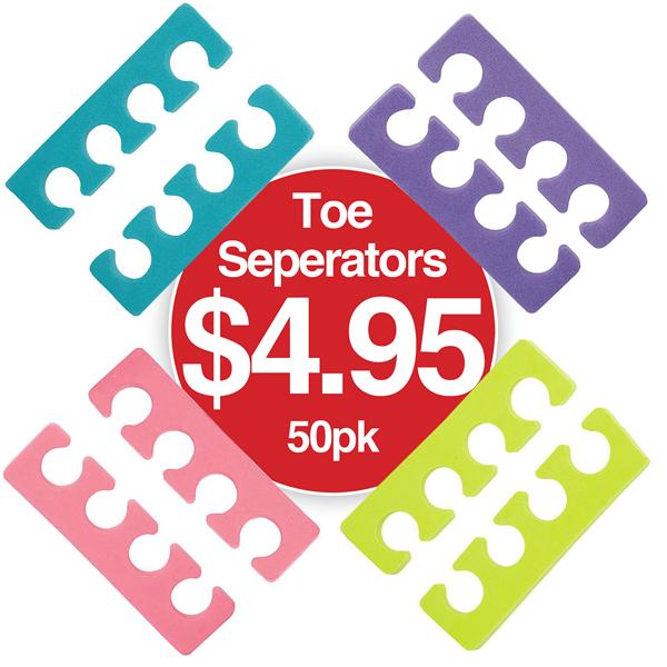 Toe Seperators 50pk $4.95
