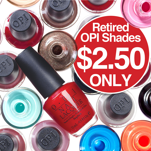 OPI Retired Shades All $2.50