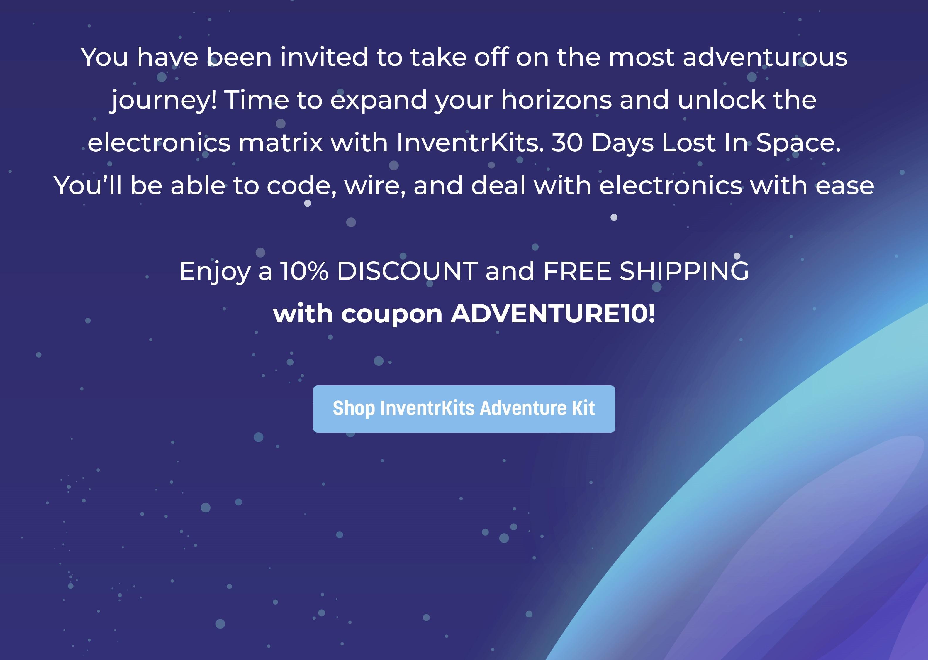 Shop InventrKits Adventure Kit