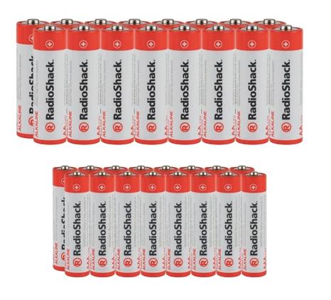 AA + AAA Alkaline Batteries Combo Pack (32-Pack)