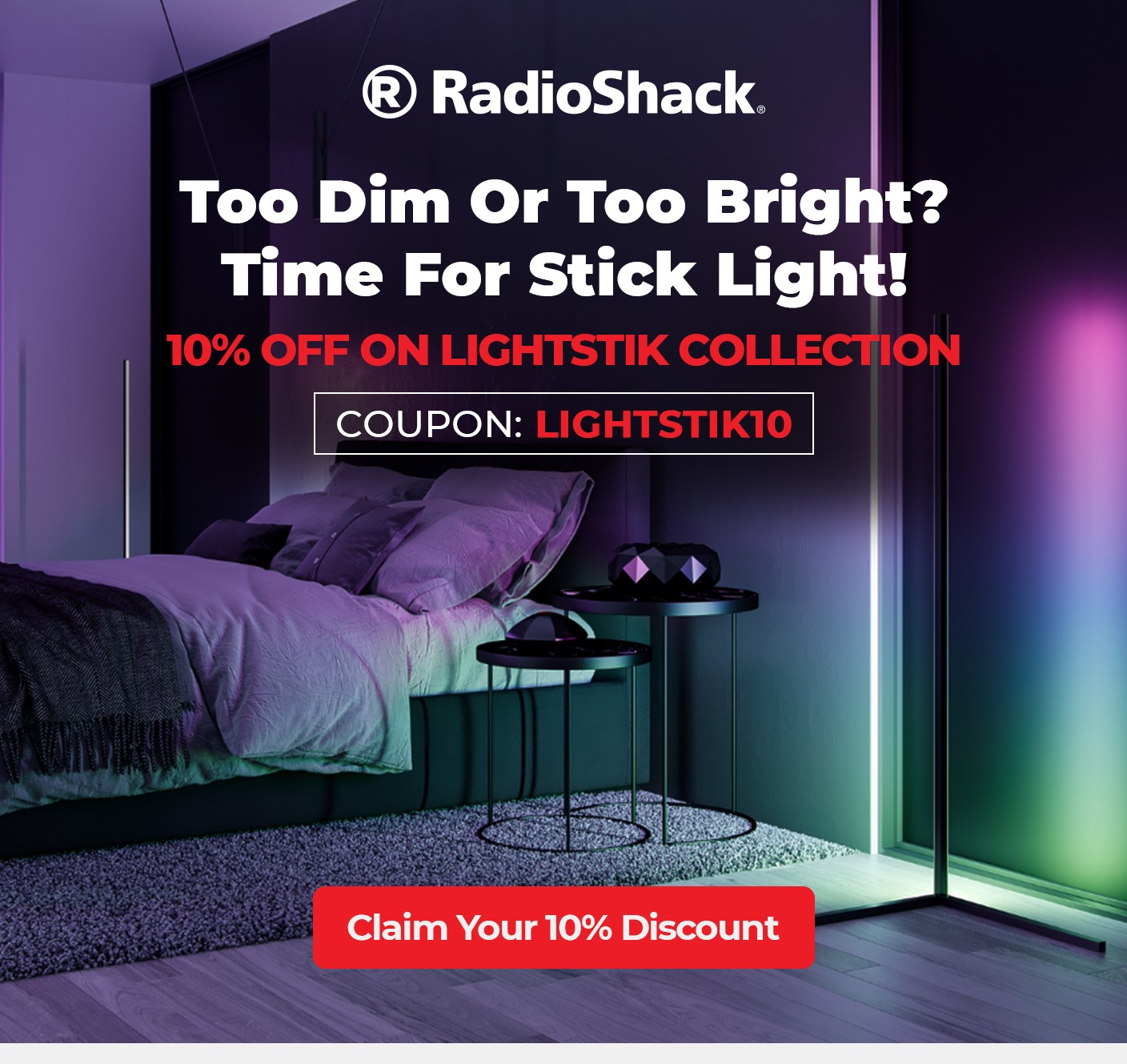 10% OFF ON LIGHTSTIK Collection