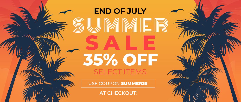 SUMMER SALE - 35% OFF