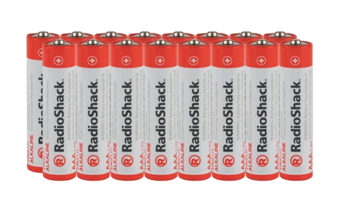 AAA Alkaline Batteries - 16-Pack
