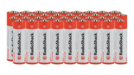 AAA Alkaline Batteries - 36-Pack