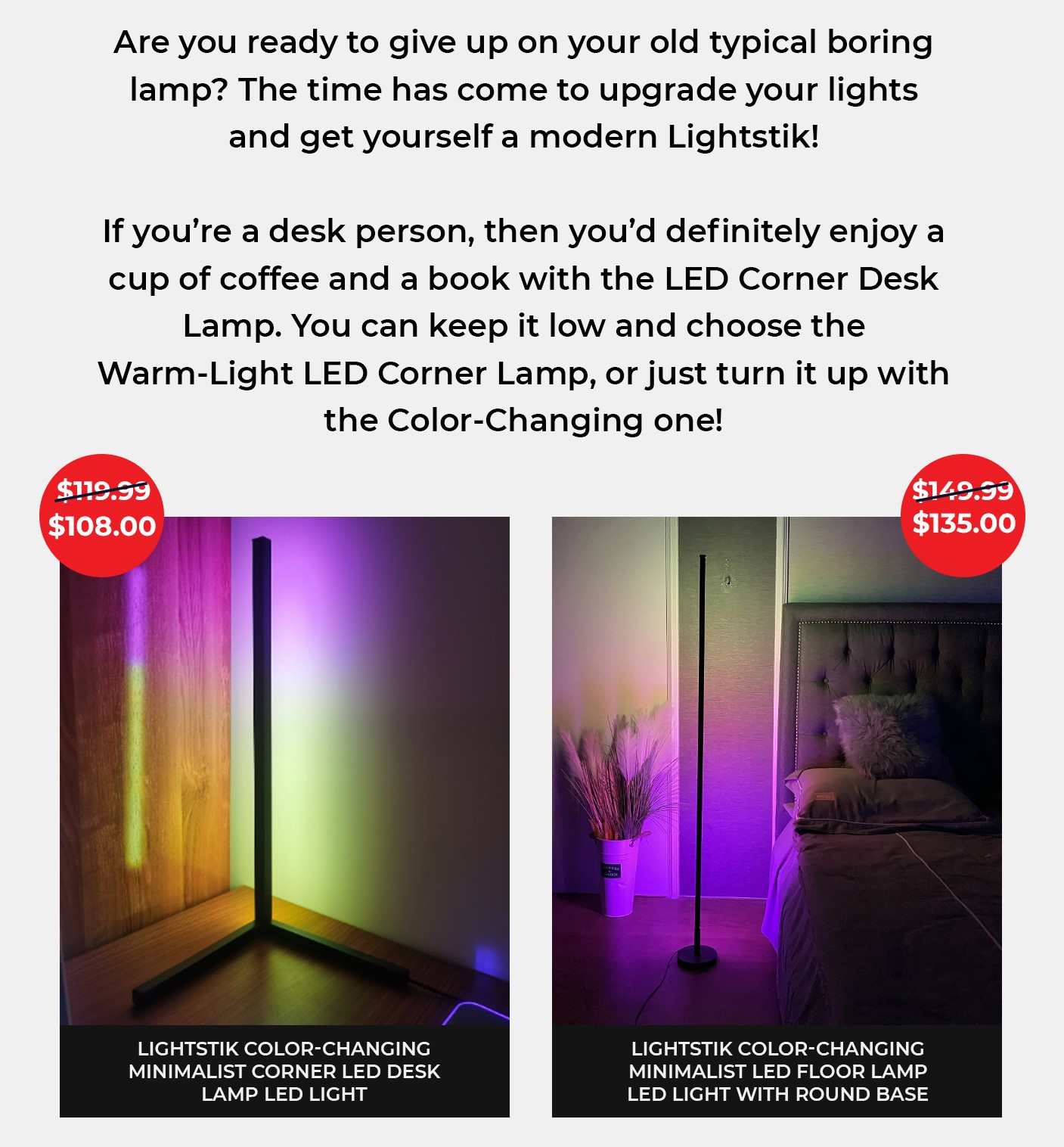 Upgrade your lights and get yourself a modern Lightstik