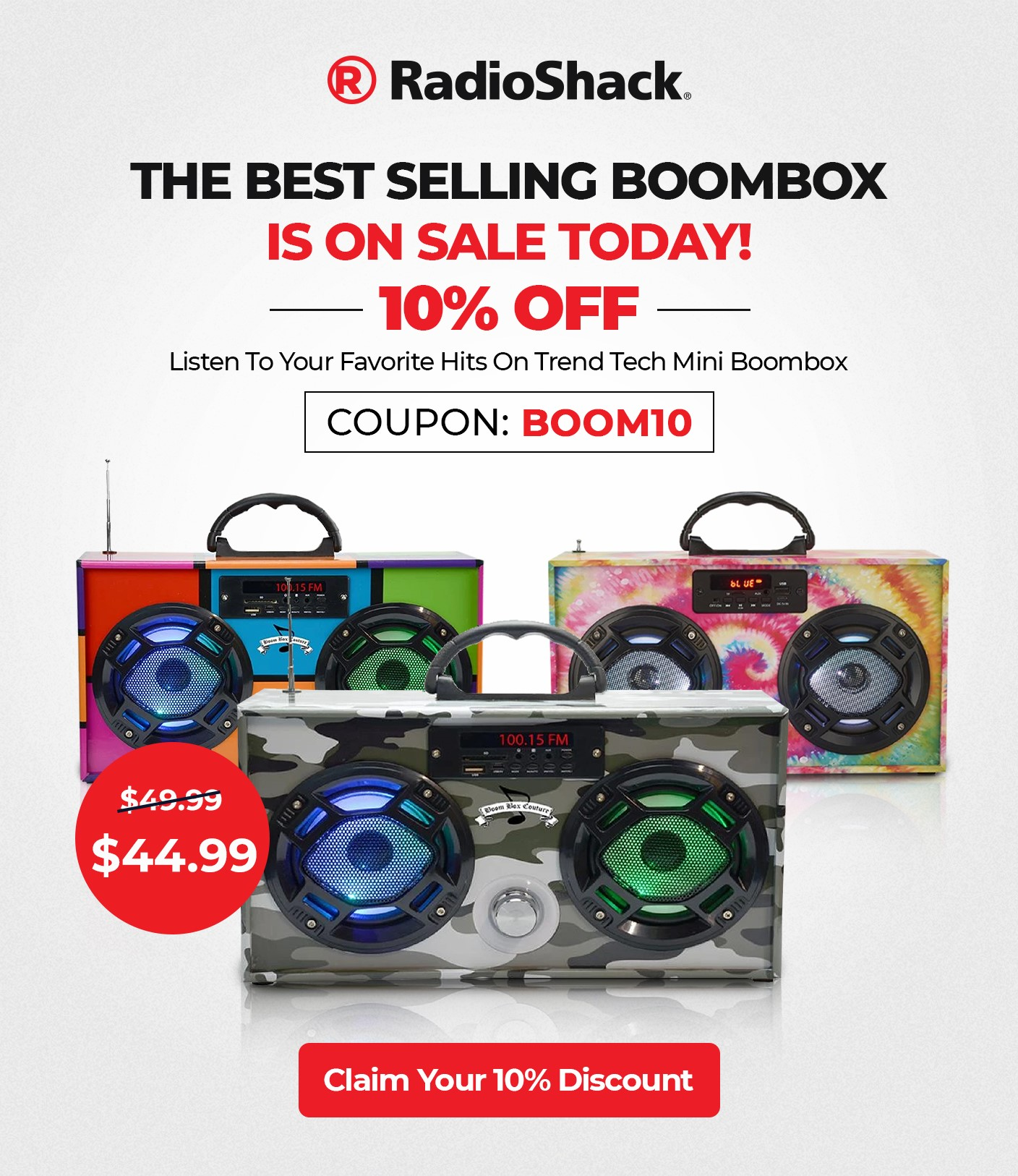 The best selling boombox