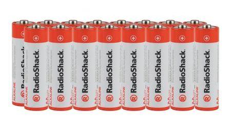 AA Alkaline Batteries - 16-Pack