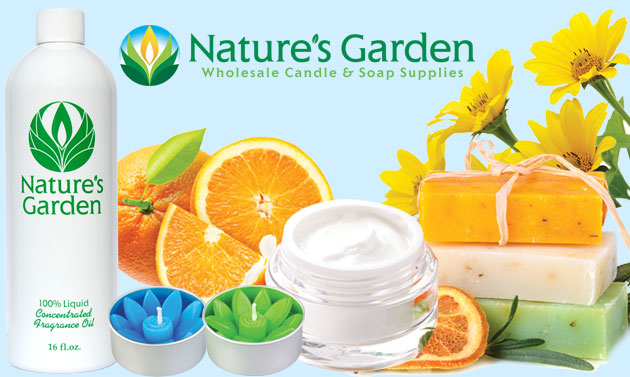 Natures Garden Wholesale Candle Soap Making Supplies Fragrance Oils