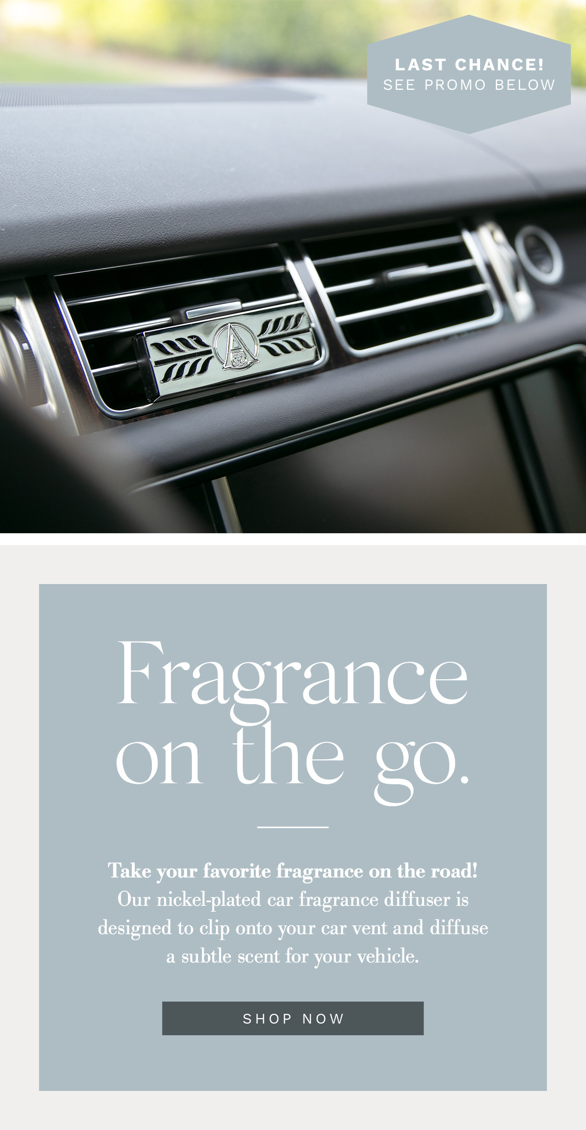Fill your car with a fragrance you LOVE!