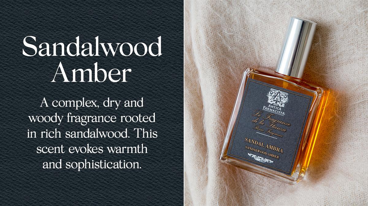 Cozy Scent: Sandalwood Amber