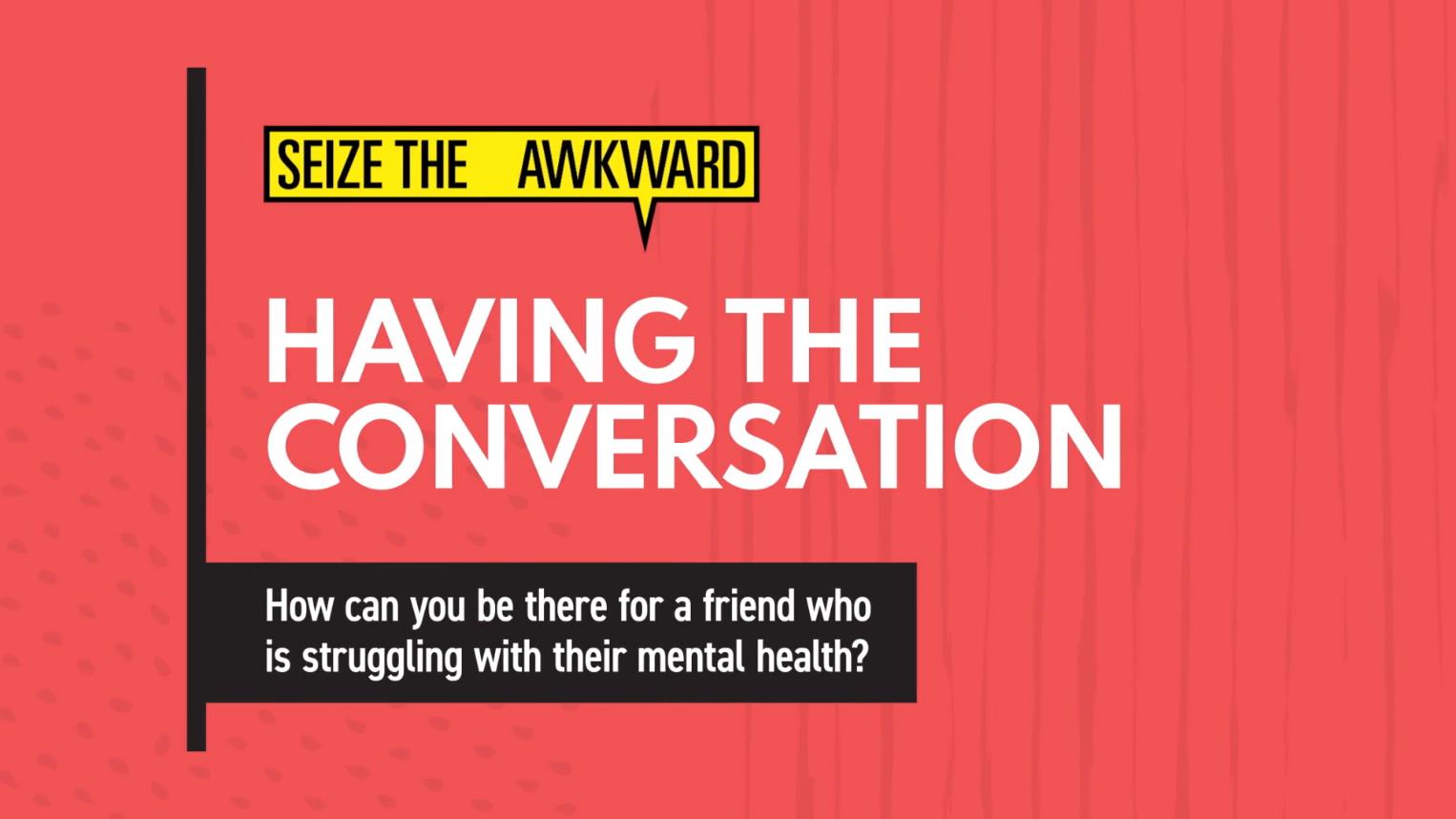 Having the Conversation