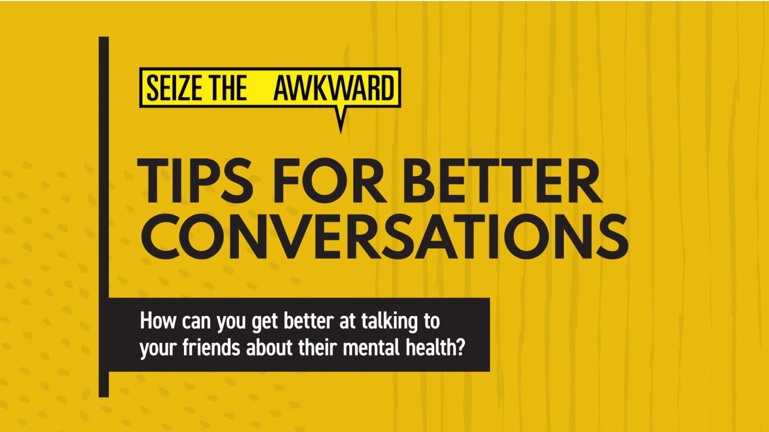 Tips for Better Conversations