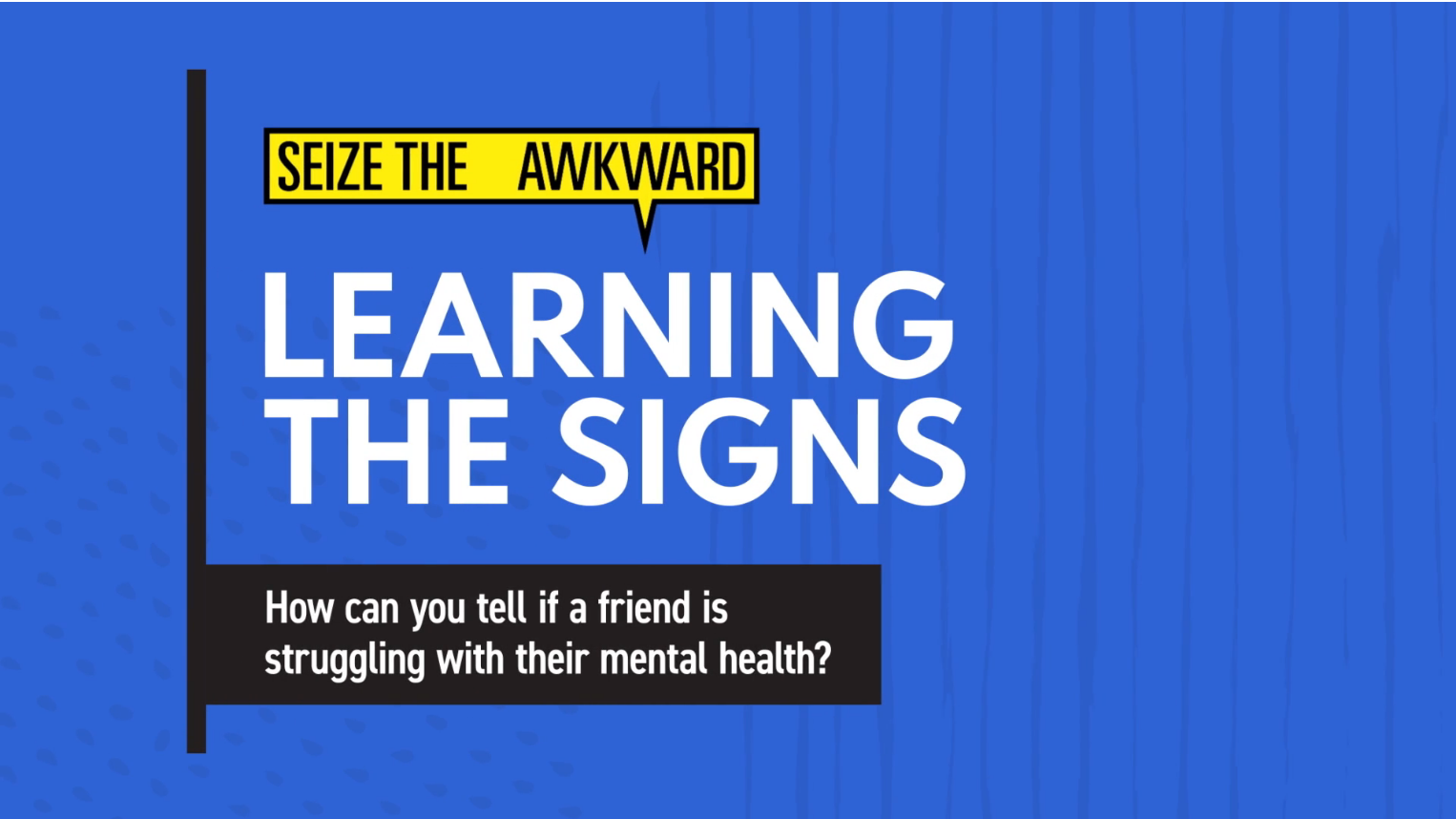 Learning the Signs