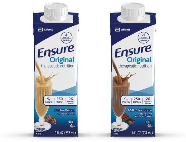 Ensure Original Drink, Recloseable