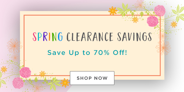 Spring Clearance Savings