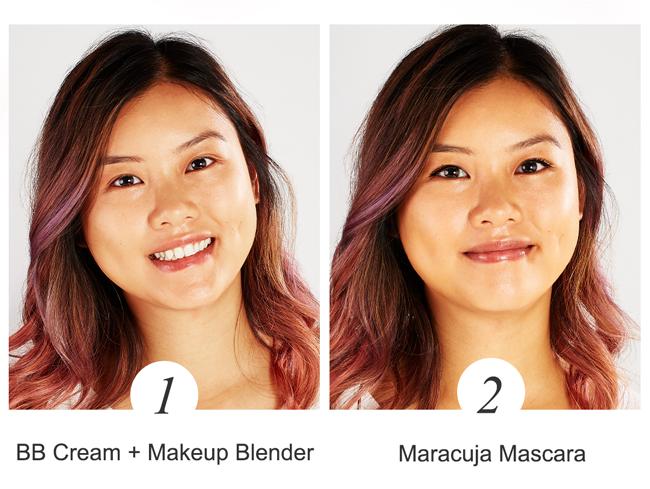 Bb cream + makeup blender. Maracuja Mascara