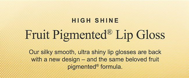 Our silky smooth, ultra shiny lip glosses are back!