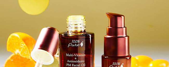 ALL NEW Multi-Vitamin Eye Treatment & Facial Oil
