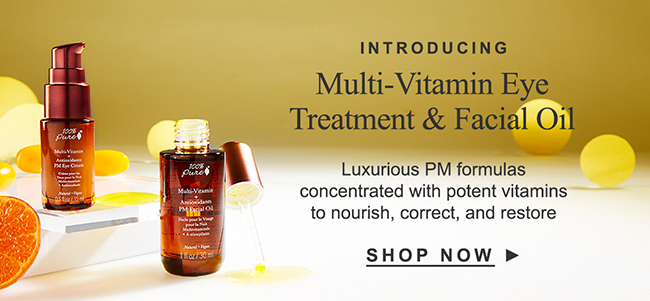 Multi-Vitamin Eye Treatment & Facial Oil