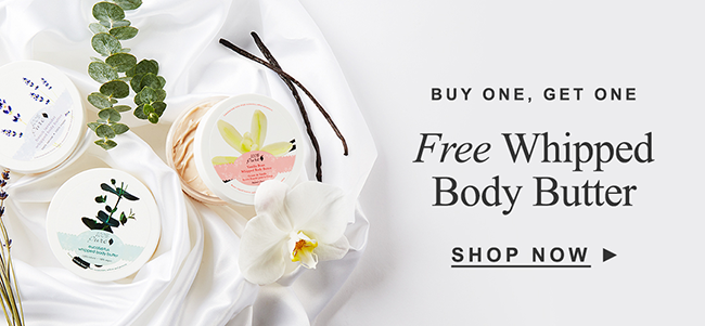 Buy one, get one Free Whipped Body Butter
