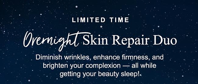 Overnight Skin Repair Duo