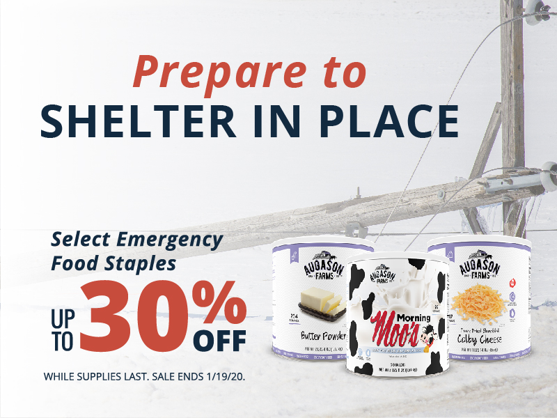Augason Farms Emergency Foods Up to 30% Off