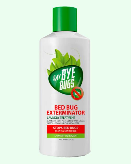 SayByeBugs Bed Bug Extermination Laundry Detergent - 32 oz