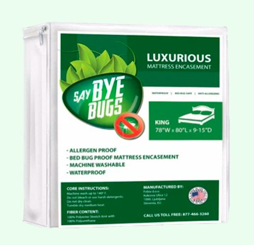 SayByeBugs Luxurious Mattress Encasement