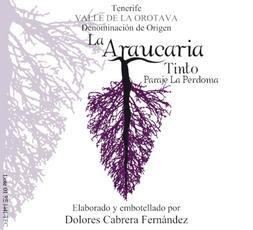 Alicante Wine Label