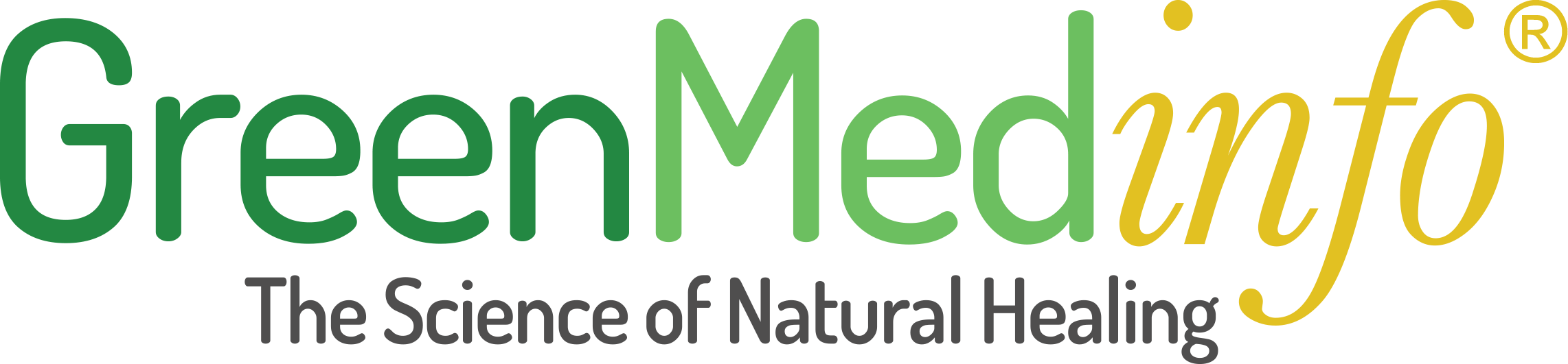 GreenMedinfo The Science of Natural Healing Logo