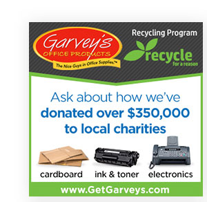 Silver Sponsor - Garvey's Office Products
