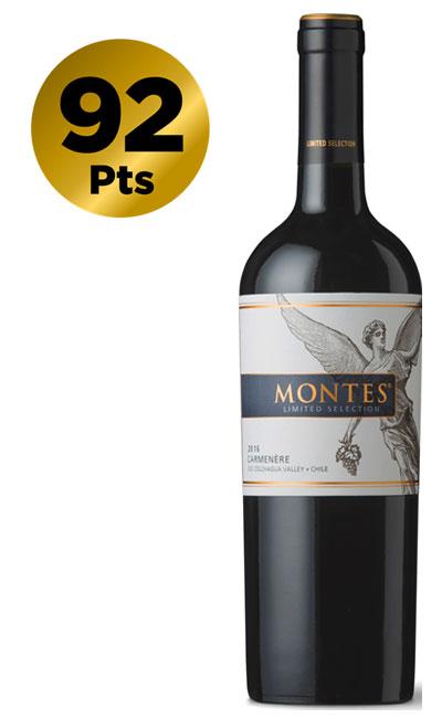 Montes Limited Selection Carmenere 2016