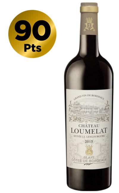Chateau Loumelat – Cuvee JJ Lesgourgues Blaye Cotes de Bordeaux Red 2015