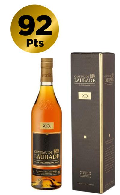 Chateau de Laubade Bas Armagnac XO 700 ml in Gift Box