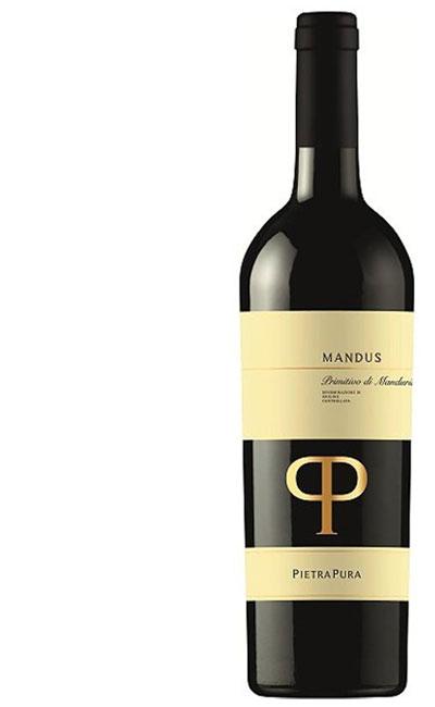 Rocca delle Macie Pietra Pura Mandus Primitivo di Manduria DOC 2017