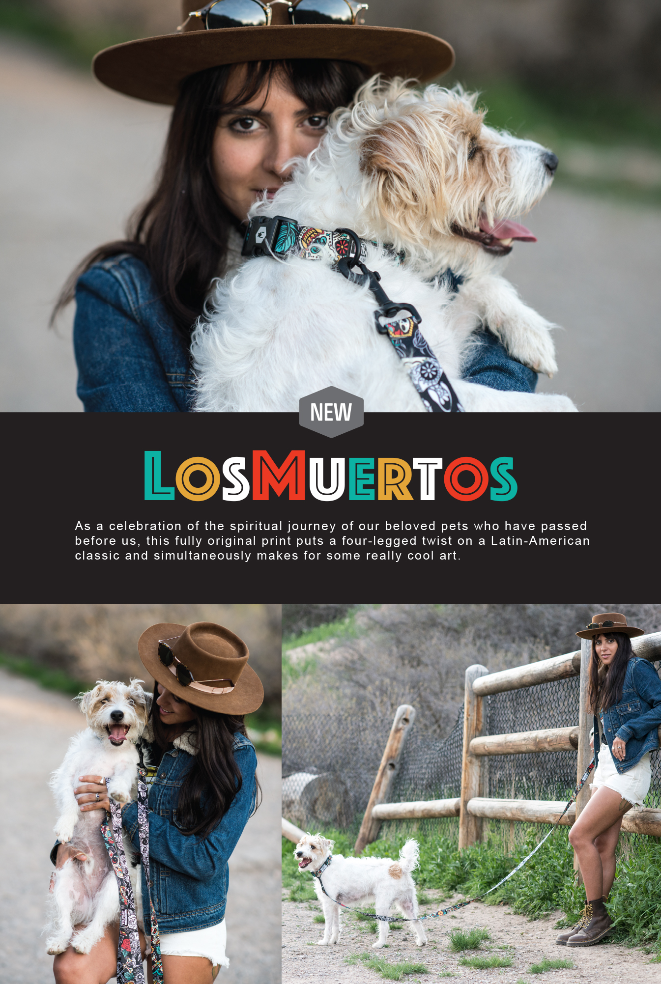LosMuertos Leash and Collar
