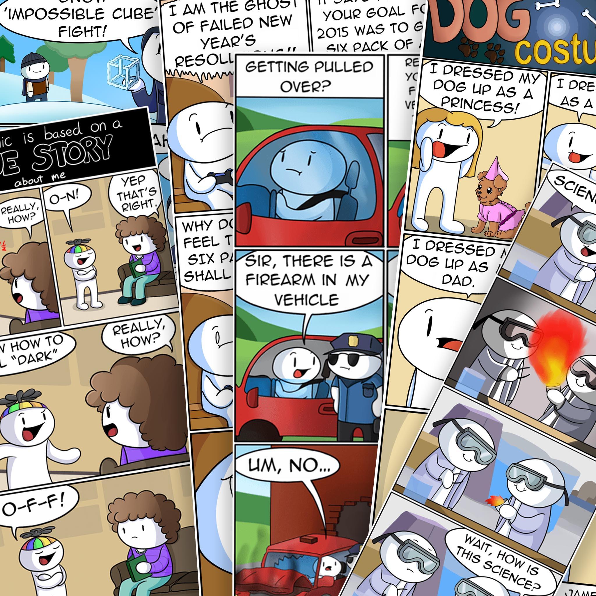 Comics Theodd1sout