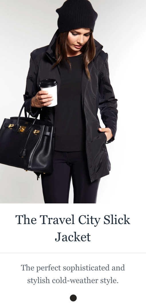 Shop the Travel City Slick Jacket